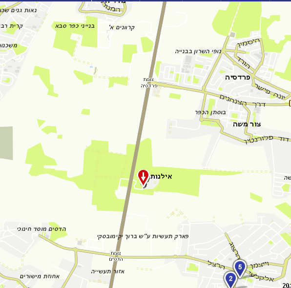 ilanot-maps